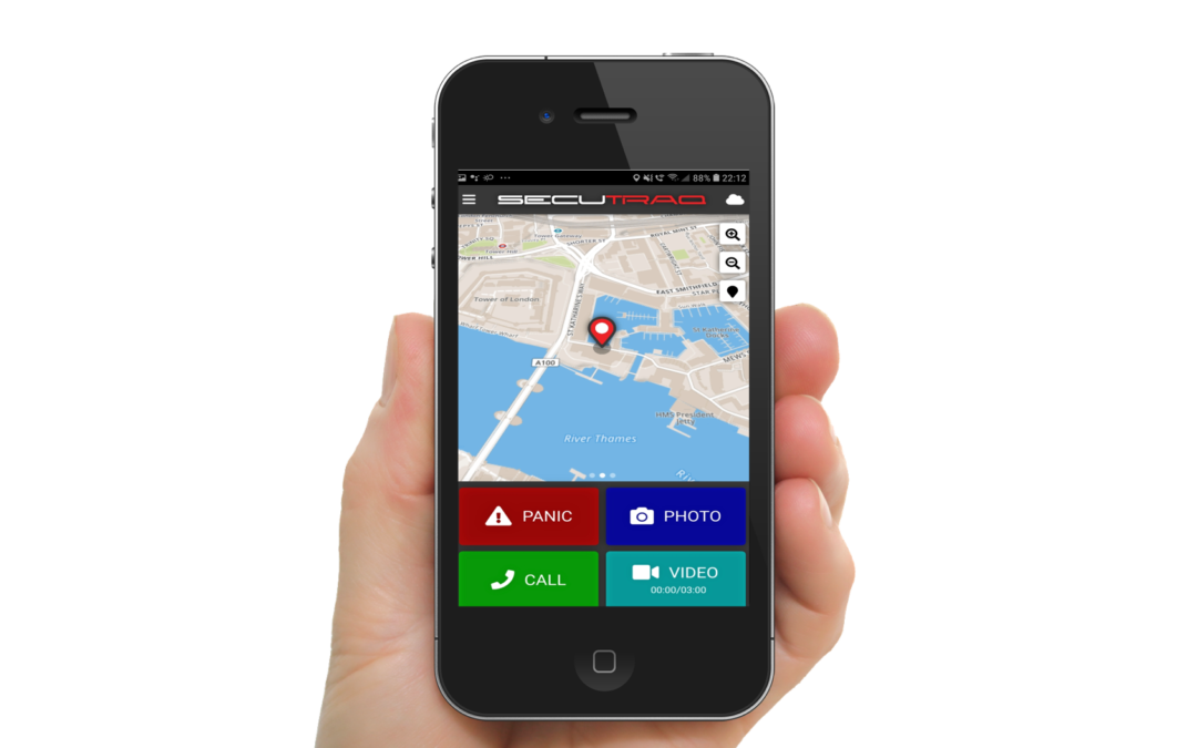 SECUTRAQ MOBILE APP FOR GUARDS